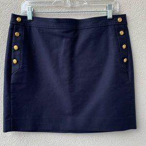 J Crew Nautical Mini Skirt